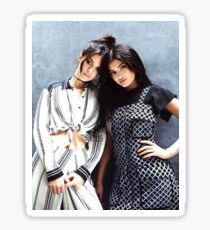 Kendall and Kylie Jenner Sticker