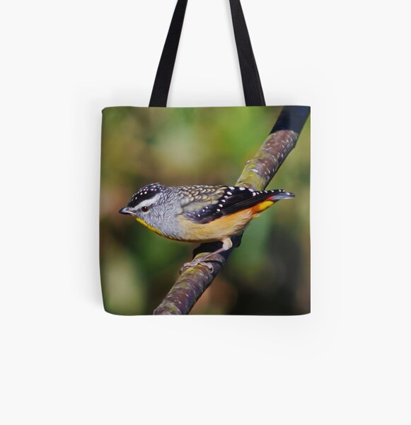 Spotted Pardalote 2 All Over Print Tote Bag
