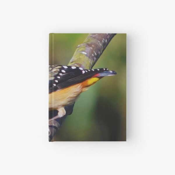Spotted Pardalote 2 Hardcover Journal