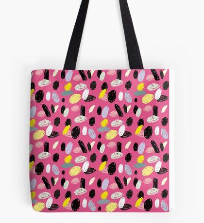 Pink Sea Shore Tote Bag