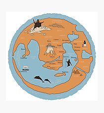Ancient world map wall art redbubble map of ancient greece photographic print gumiabroncs Images