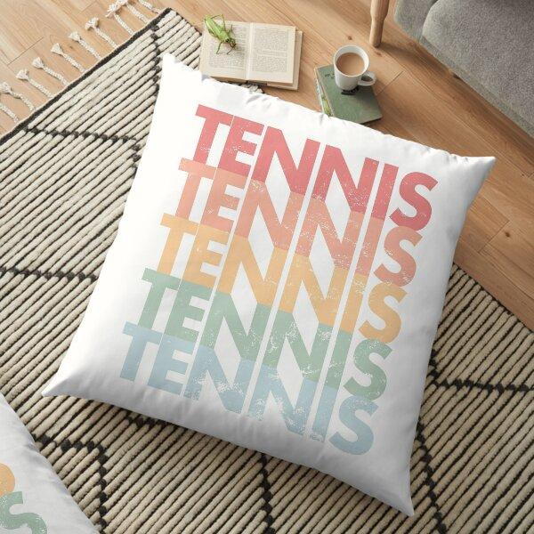 Tennis rainbow Floor Pillow
