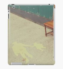 Chairs For Street Markings iPad Case/Skin