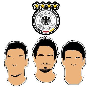 Germany - Die Mannschaft - Hummels, Ozil, Muller - EURO 2016 by Matty723