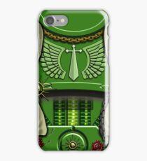 Green Sword Wielder Armour iPhone Case/Skin