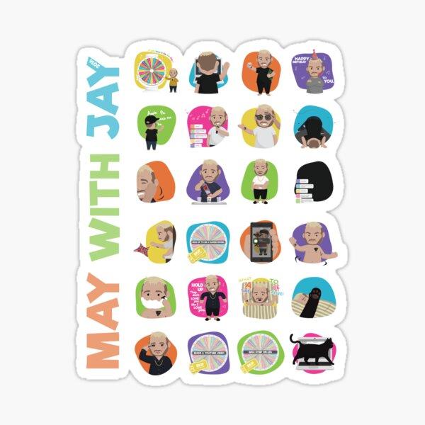 May with Jay 2016 V1 Sticker