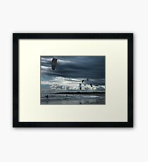 The End of the Day............... Framed Print