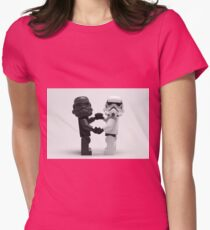 Lego Star Wars Stormtroopers Love Minifigure Womens Fitted T-Shirt