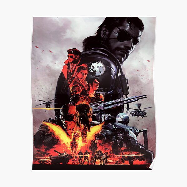 Metal Gear Solid V - El dolor fantasma Póster
