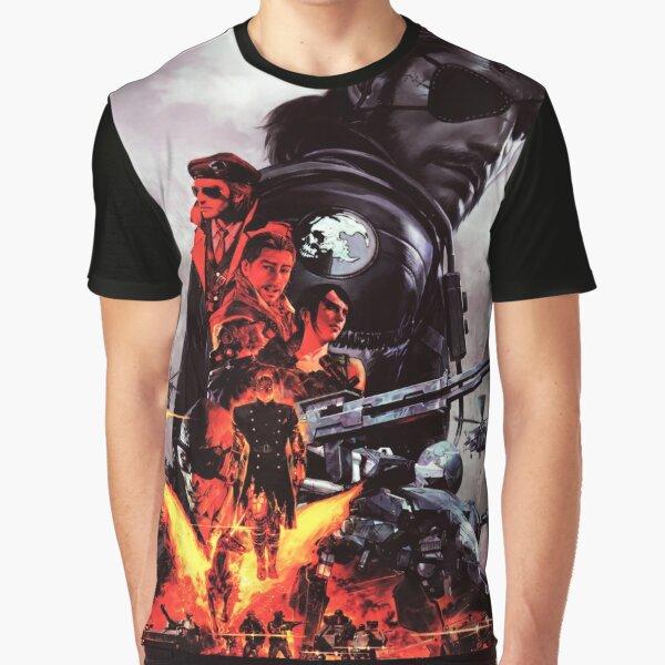 Metal Gear Solid V - The Phantom Pain Graphic T-Shirt