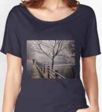 Strolling in the Rain Women's Relaxed Fit T-Shirt