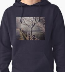 Strolling in the Rain Pullover Hoodie