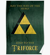 Triforce Lives Poster