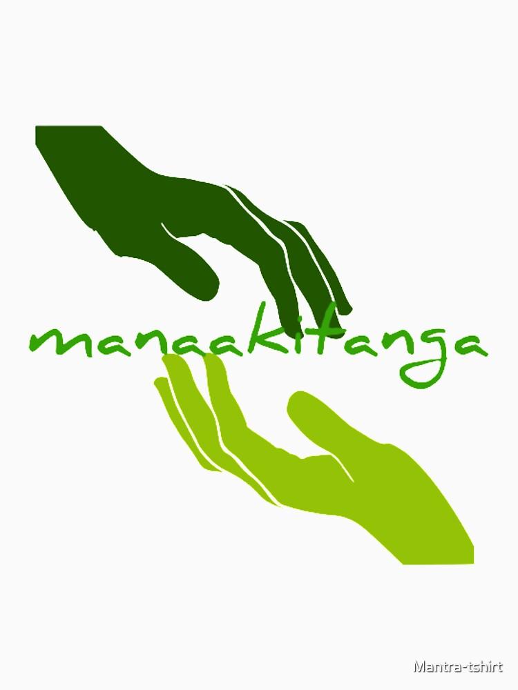 Manaakitanga - Generosity in Māori culture by Mantra-tshirt