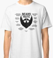 Beard Facts (black) Classic T-Shirt