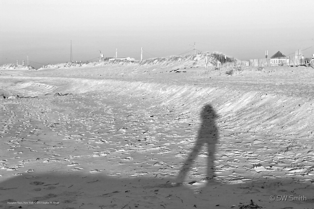 Sophie's Silhouette In December | Hampton Bays, New York  by © Sophie W. Smith