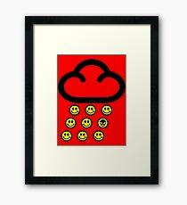 Acid Rain Tee Framed Print
