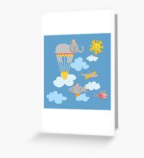 Flying Circus Greeting Card