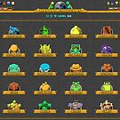 Education Category Icons by gamemorph