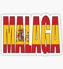 Malaga. Sticker