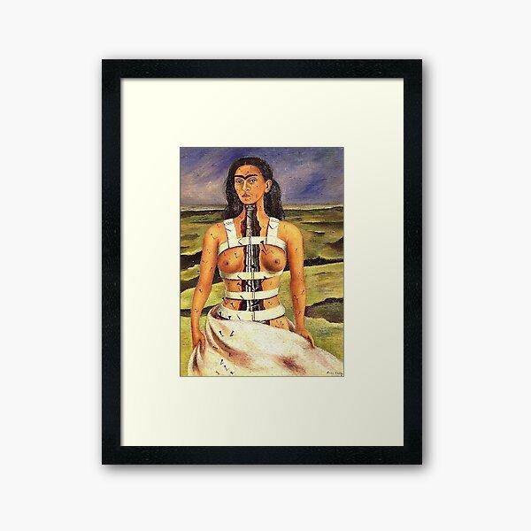 The Broken Column by Frida Kahlo Framed Art Print