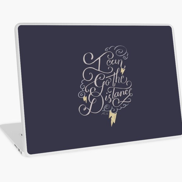 Go The Distance Laptop Skin