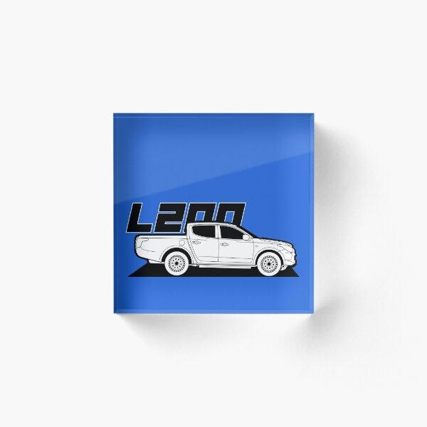 Mitsubishi L200 Pickup Acrylic Block