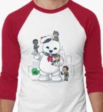 Puft Buddies Men's Baseball ¾ T-Shirt
