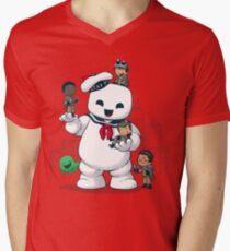 Puft Buddies Men's V-Neck T-Shirt