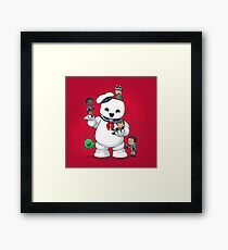 Puft Buddies Framed Print