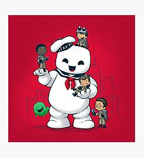 Puft Buddies Photographic Print
