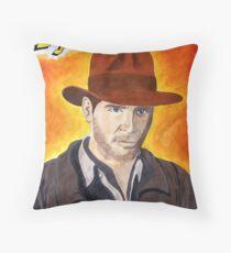 Indiana Jones Throw Pillow