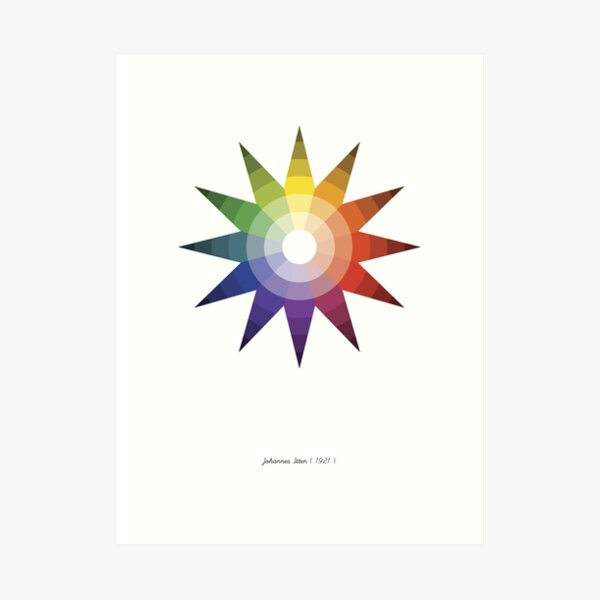 Color Star Art Print