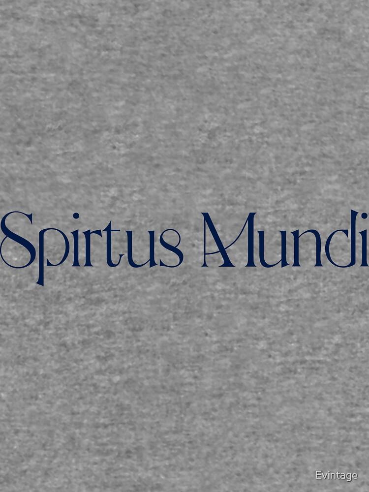 Spiritus Mundi  by Evintage
