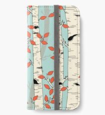 In the Birch Trees iPhone Wallet/Case/Skin