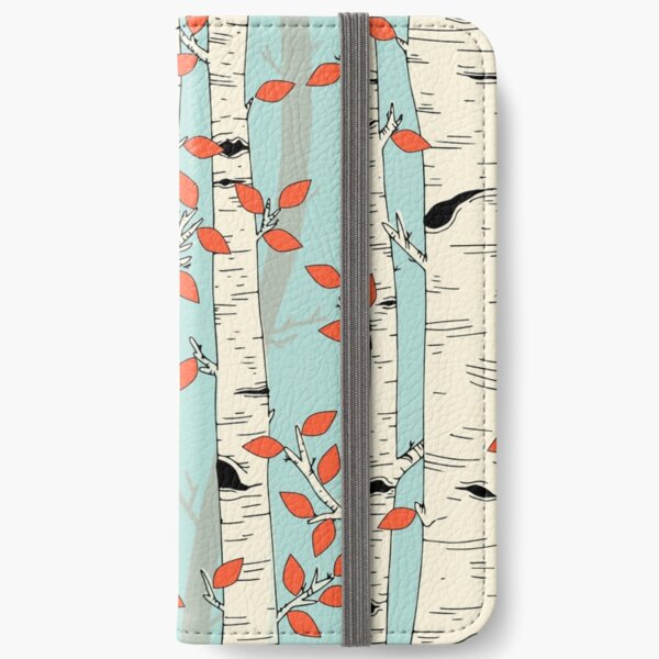In the Birch Trees iPhone Wallet