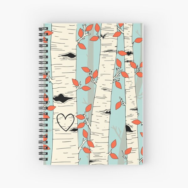 In the Birch Trees Spiral Notebook