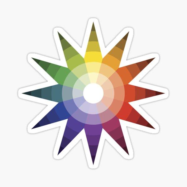 Itten Color Star Sticker