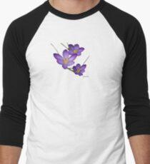 Crocus Men's Baseball ¾ T-Shirt