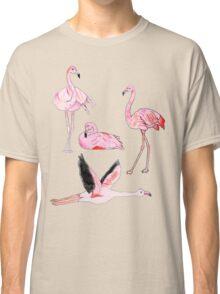 Flamingos Forever Classic T-Shirt