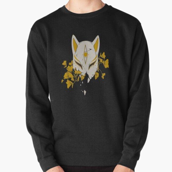 Japanische Fuchsmaske Pullover