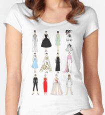 Outfits of Audrey Fashion Women's Fitted Scoop T-Shirt