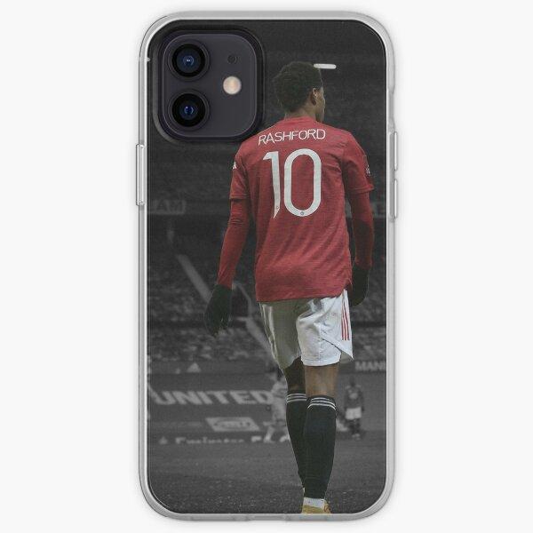 Marcus Rashford Manchester United 2020/21 iPhone Case & Cover iPhone Soft Case
