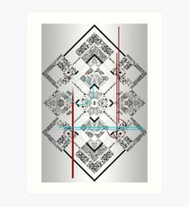Symmetric Art Print