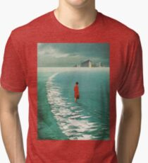 Waiting For The Cities To Fade Out Tri-blend T-Shirt