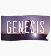 Genesis by Grimes Poster