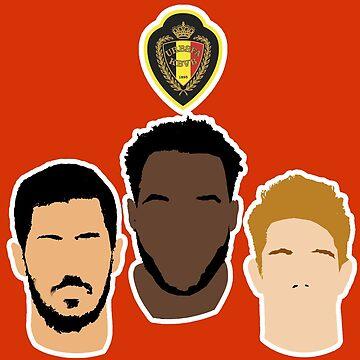 Belgium - Hazard, Lukaku, De Bruyne - Euro 2016 by Matty723