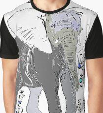 African Elephant, Loxodonta africana  Graphic T-Shirt