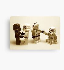 Lego Star Wars Stormtroopers Diversity Minifigure Canvas Print
