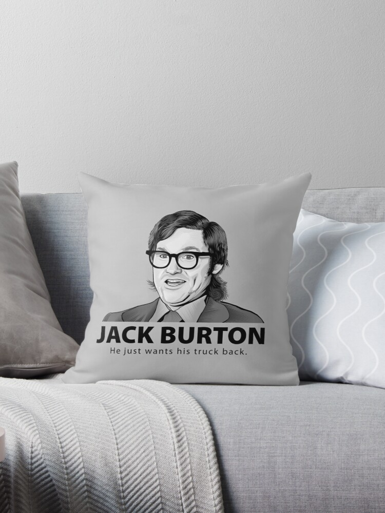 Quot Jack Burton Wants His Truck Back Quot Throw Pillows By Jf